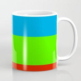 Fluorescent Rainbow  7 Colours Coffee Mug