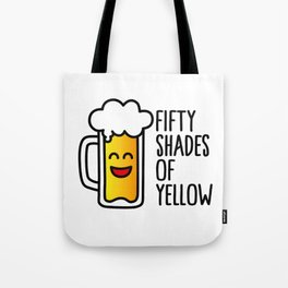50 shades of yellow Tote Bag
