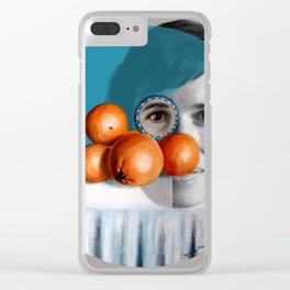 The ORANGEGIRL Clear iPhone Case