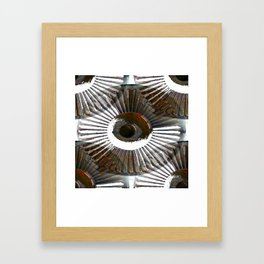 hub 1 Framed Art Print