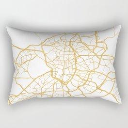 MADRID SPAIN CITY STREET MAP ART Rectangular Pillow