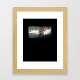 Chesterfield / Laundry Room Window Framed Art Print