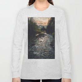 The Sandy River II Long Sleeve T-shirt