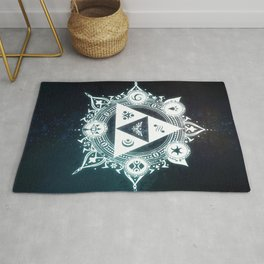 The triforce Power Rug