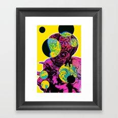 Alien Brain Hemorrhage  Framed Art Print