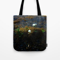 Sprouting an urban island Tote Bag