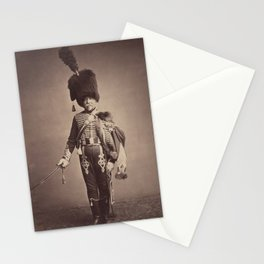 Vintage Photographic Print - Quartermaster Fabry of the 1st Hussars (1558) Stationery Cards