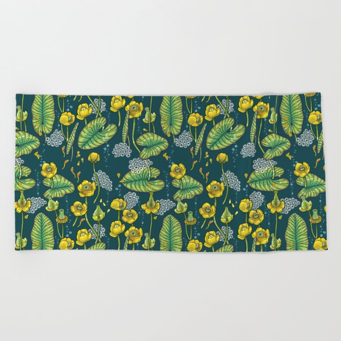 River of Mystery Beach Towel