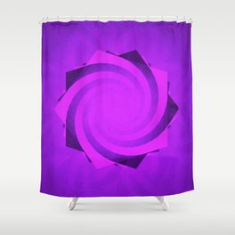 The Future of Pentagrams Shower Curtain