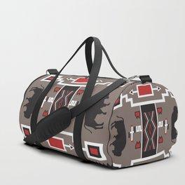 American Native Pattern No. 161 Duffle Bag