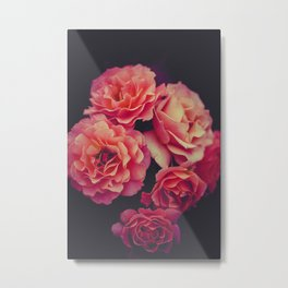 The Pink Flowers (Color) Metal Print