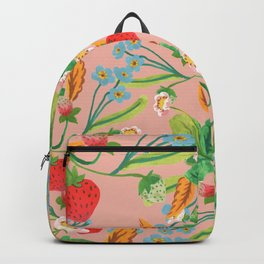 Strawberry Patch Backpack