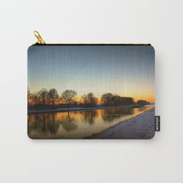 Winter sun early morning waterfront Carry-All Pouch