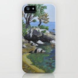 Windy Beach iPhone Case