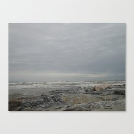 Windy in Torremolinos Canvas Print