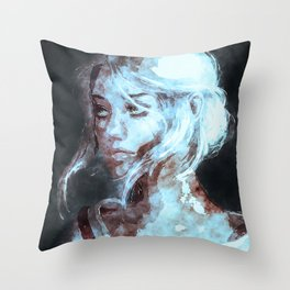 Ciri The Witcher Throw Pillow