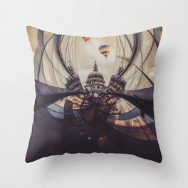 Another St Paul gaze Throw Pillow