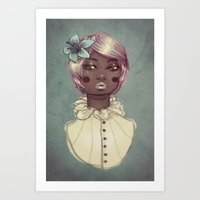 candy Art Prints featuring Candy by Edge
