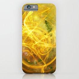 Essence Yellow iPhone Case