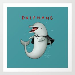 Dolphang Art Print