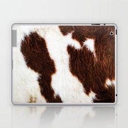 Cowhide Brown Spots Laptop & iPad Skin