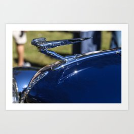 Majestic Vintage Automobile Hood Ornament Art Print