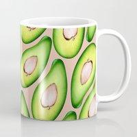 avocado Mugs featuring Avocado by Colocolo Design | www.colocolodesign.de