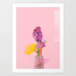 Coming Through Art Print