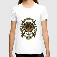 bucky barnes T-shirts featuring Sgt Bucky Barnes (green) by emptystarships