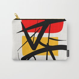 Synchronicity Abstract Art Minimalist in the zen spirit Carry-All Pouch