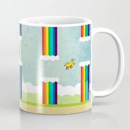 Flappy Unicorn Coffee Mug