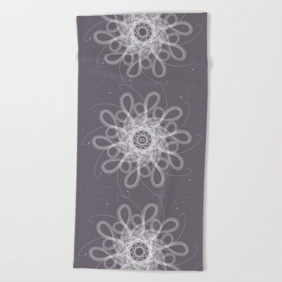 Ornament - Stormy Blossom Beach Towel