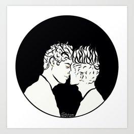 Aku Cinta Kamu Art Print
