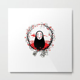 Evil Without Face Metal Print
