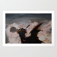 spawn Art Prints featuring Spawn by mfrioni