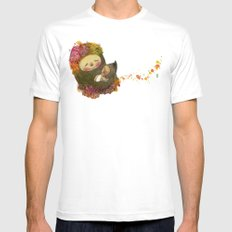 Mother Earth Mens Fitted Tee White MEDIUM