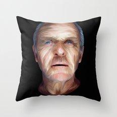 Anthony Hopkins Throw Pillow
