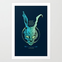 Donnie Darko Lifeline Art Print