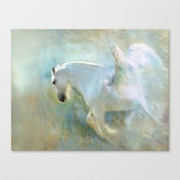 Angelic Pegasus Canvas Print