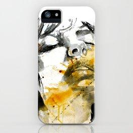 splash portraits iPhone Case