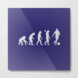 The Evolution of Humankind Metal Print