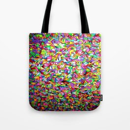 Abstract multicoloured pattern Tote Bag