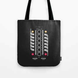 INLINE SIX Tote Bag