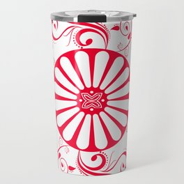 Gyspy Wheel Mandala Travel Mug