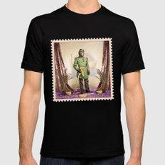 General Simian of the Glorious Banana Republic MEDIUM Mens Fitted Tee Black