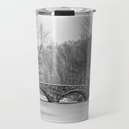 Stone Bridge at Clove Lakes Staten Island Travel Mug