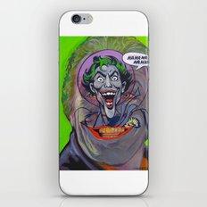 Ha Ha Ha Ha Ha! The Joker! iPhone & iPod Skin