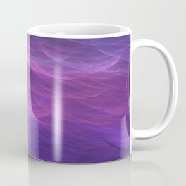 Pink and Purple Ultra Violet Soft Waves Coffee Mug