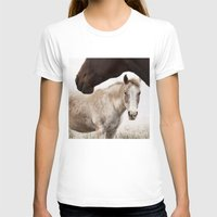 horses T-shirts featuring Horses by Ash W