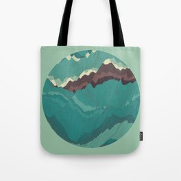 TOPOGRAPHY 004 Tote Bag